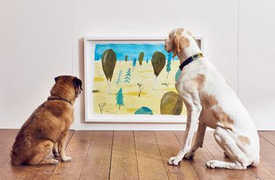 Интерактивна изложба за кучета: защото ние не сме единствените, които имат нужда от изкуство