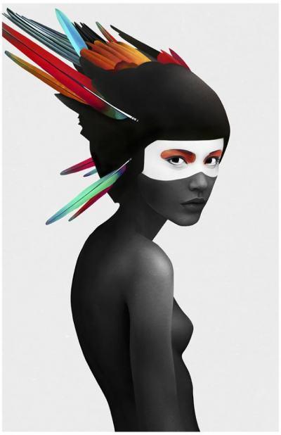 Силните жени на Ruben Ireland (илюстрации)