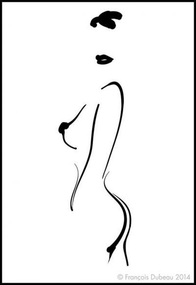 Еротичните илюстрации на François Dubeau: където въображението е по-важно от ексхибиционизма
