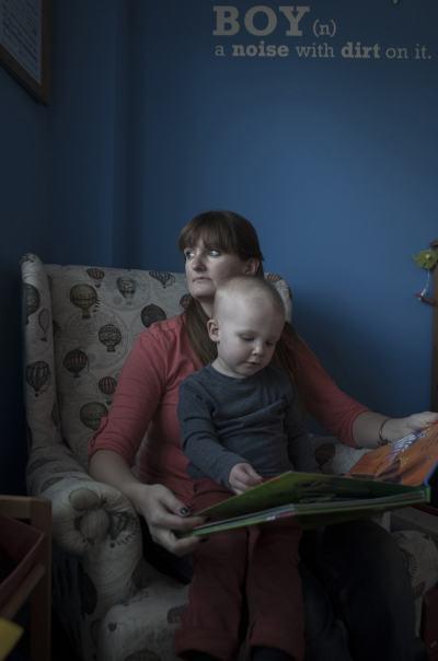 Следродилната депресия – в искрен (и изпълнен с надежда) фотографски проект