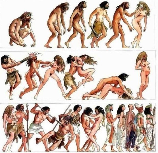 история на човечеството - в илюстрациите на Milo Manara