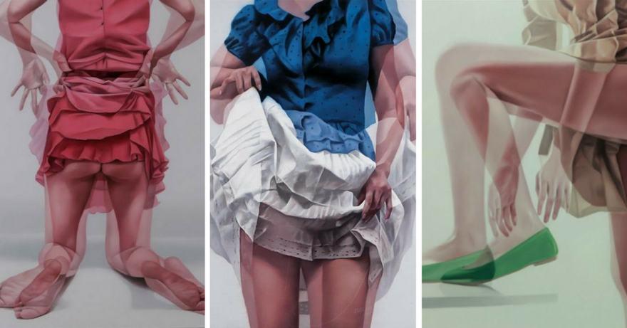 Картини на Ho Ryon Lee (маслена живопис)
