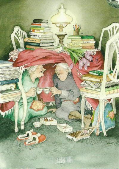 Финландски баби: илюстраторка съветва да бъдем весели и безгрижни като тях