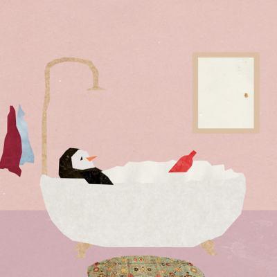 Пингвин и бутилка вино: илюстрирана история за самотата и щастието, по случайност излязла от детска книжка