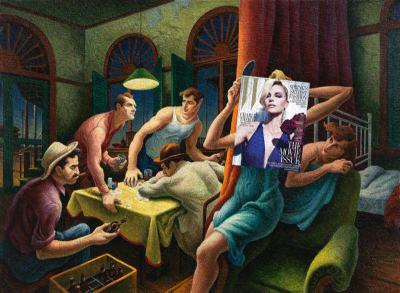Поп култура и живопис: брак по любов в колажите на Eisen Bernard Bernardo