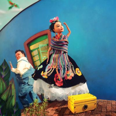 Viva Frida: необичайна детска книжка вдъхновява бъдещи артисти с живота и духа на Фрида Кало
