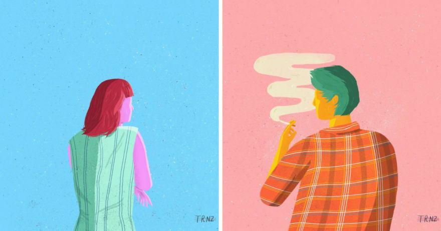 100 Days of Secrets: илюстратор създава безплатни портрети