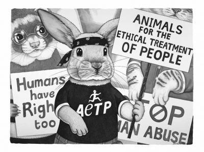 Why it Sucks to be Human!: ирландка си представя свят, в който ролите на хора и животни са разменени (илюстрации)