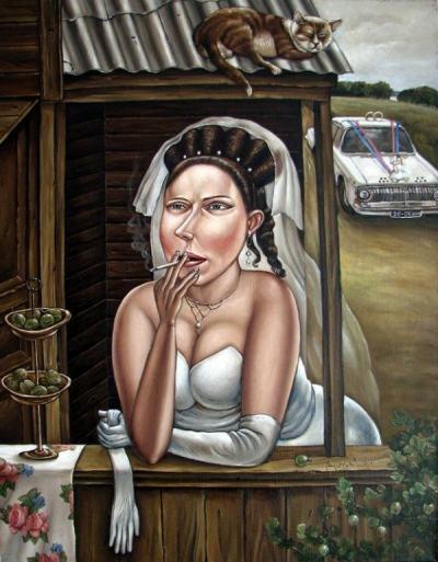 "Носталгични и хумористични: ""соц"" картините на Анжела Джерих"