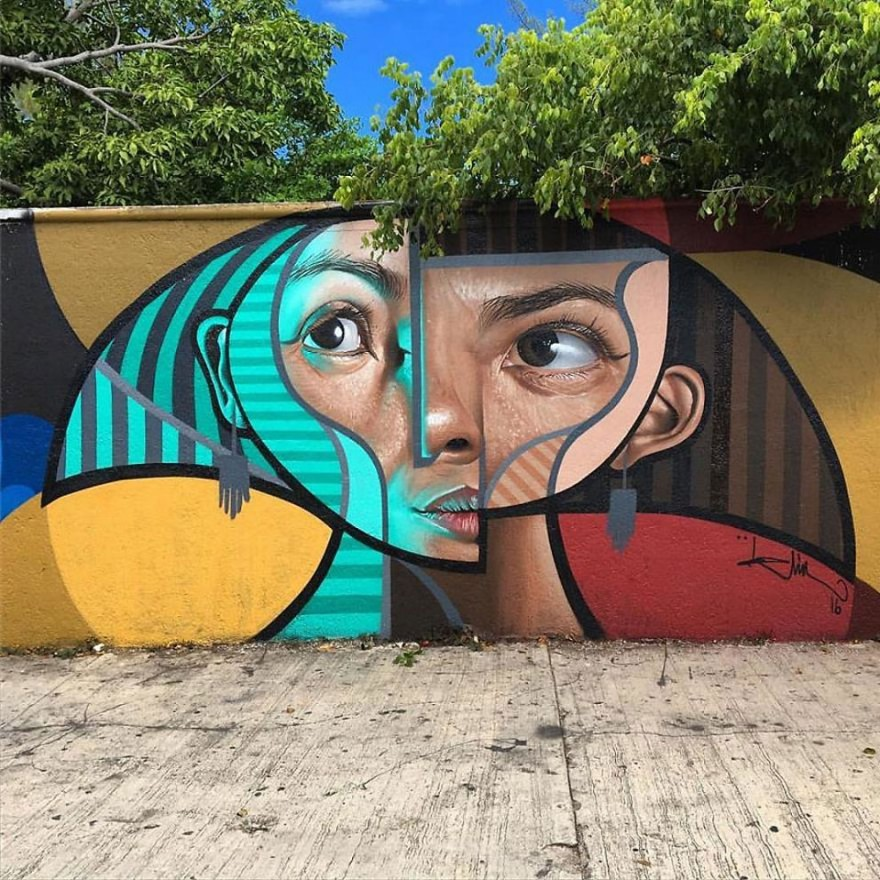 графитите на испански уличен артист