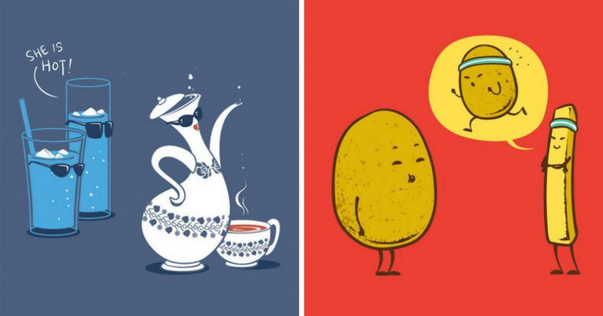 любимата ни храна (илюстрации)