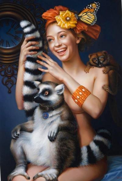 Между хумора и тъгата: хиперреалистичните картини на Лилия Мазуркевич
