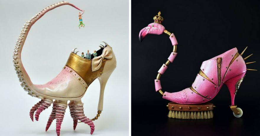 ако Салвадор Дали правеше обувки (снимки)