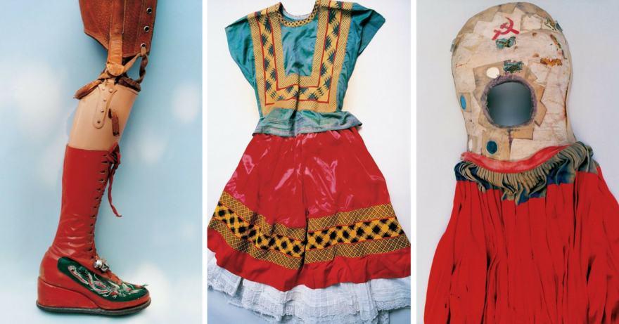 скритият гардероб на Фрида Кало (снимки)