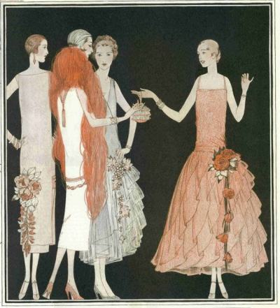 Рядко за времето си, цветно видео показва модно ревю от 1925 г.