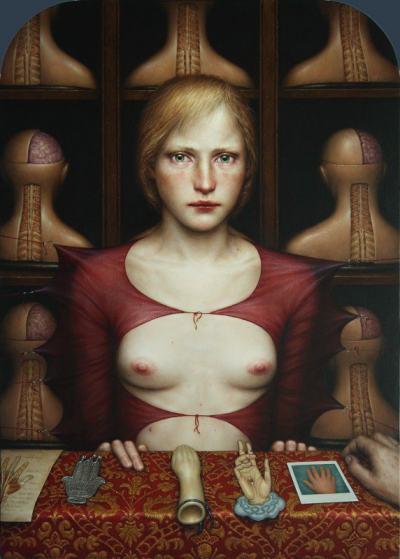 Смущаващата, сюрреалистична живопис на Dino Valls