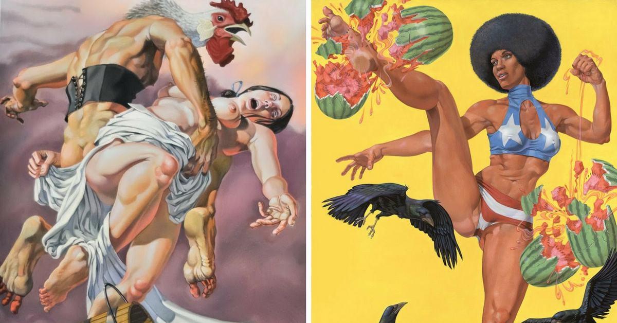 картините на Van Arno