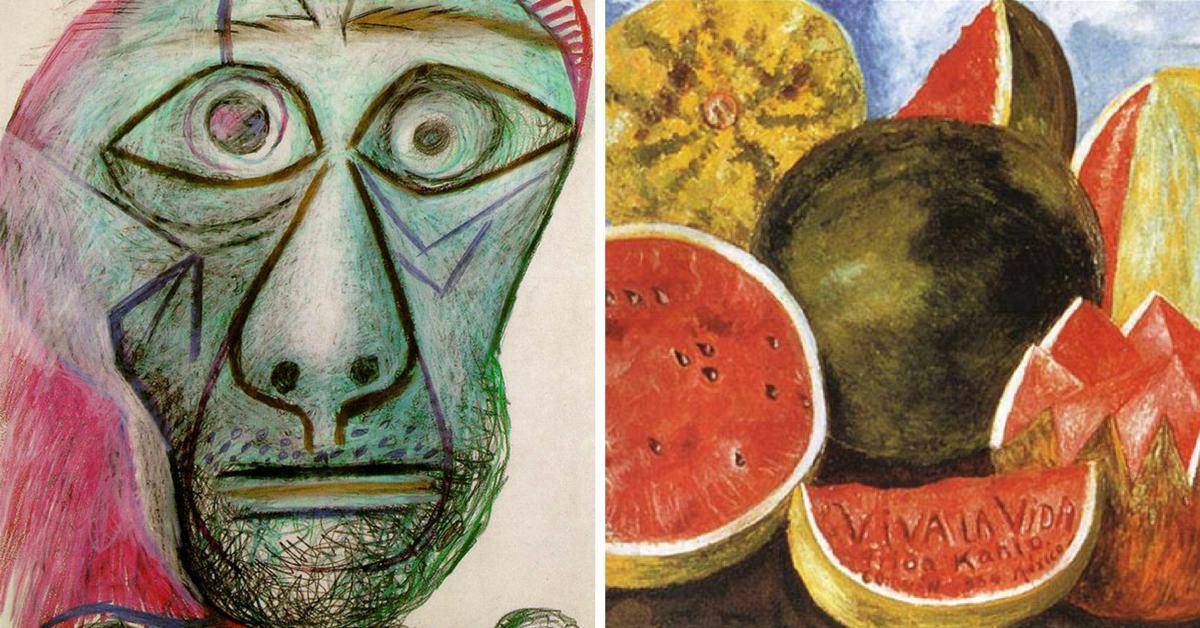 Последните картини на големите художници