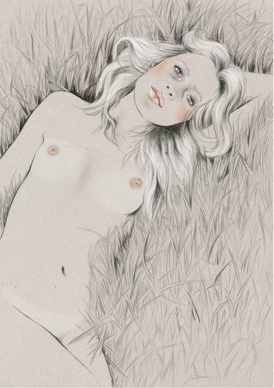 Жени, чувстващи се удобно в кожата си – в илюстрациите на Kelly Thompson