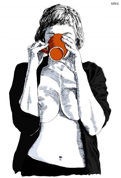 Жената – чувствена и свободна в илюстрациите на Suzie-Q