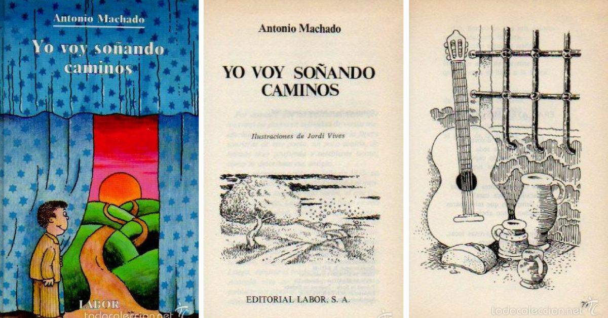 Корица и илюстрации от испанското издание, художник: Jordi Vives/ LABOR, 1988