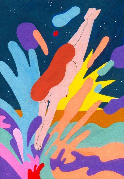 Сънища наяве – в ярките илюстрации на Chiara Dal Maso