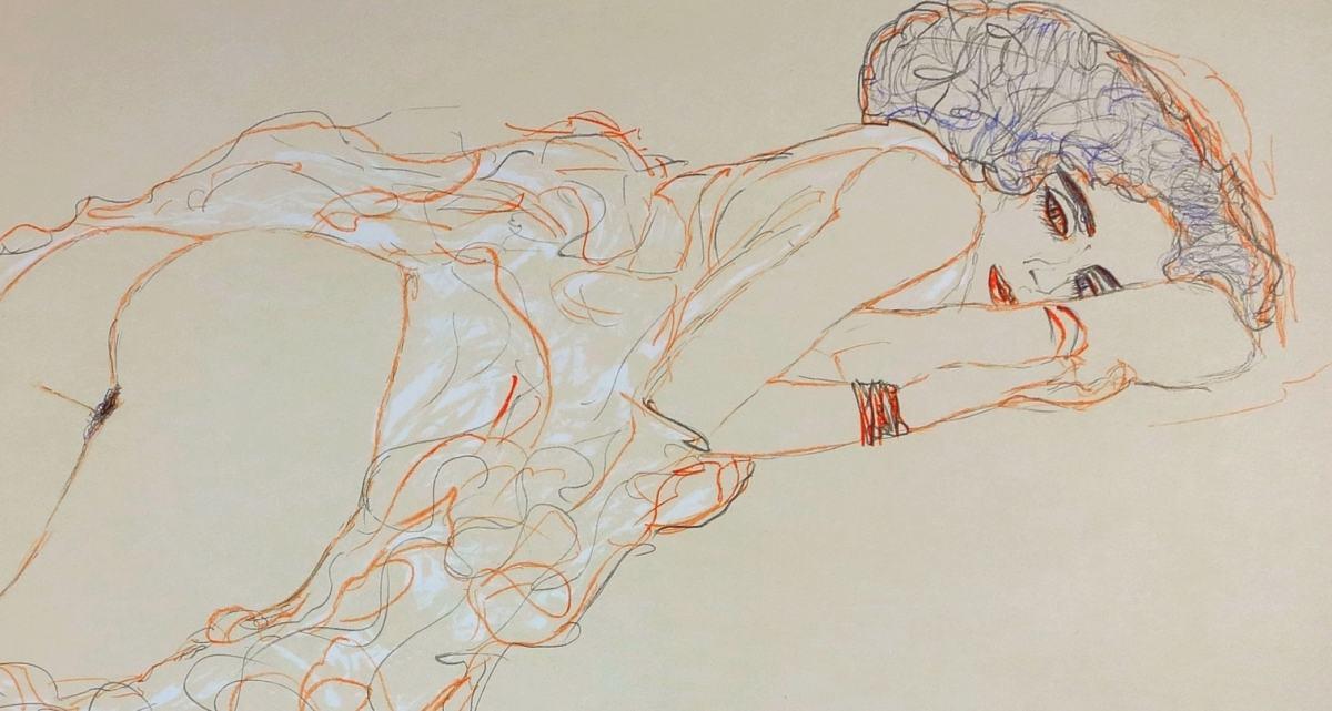 еротичните скици на Густав Климт