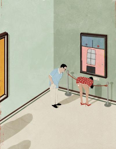 """Двусмислените, """"двулики"""" и провокативни илюстрации на италианеца Adrea Ucini"""