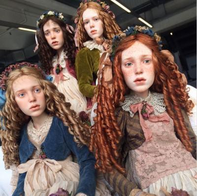 """Руски артист """"вдъхва живот"""" на куклите си (снимки и видео)"""