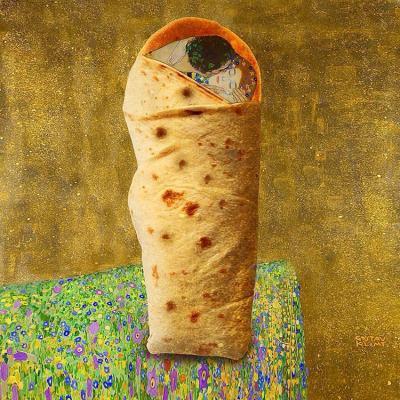 Шедьоври на изобразителното изкуство + поп култура – в колажите на Dan Cretu