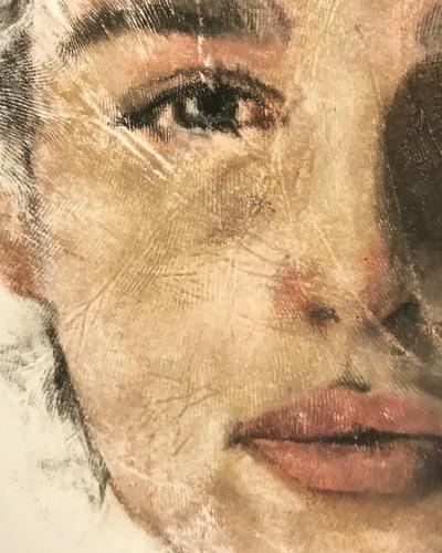 Ръчно щамповане – художник съчетава любовта си към портретното изкуство и боди арта (снимки и видео)