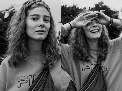 Преди/ след целувката – фотограф целува и снима непознати за проекта Kiss of a Stranger