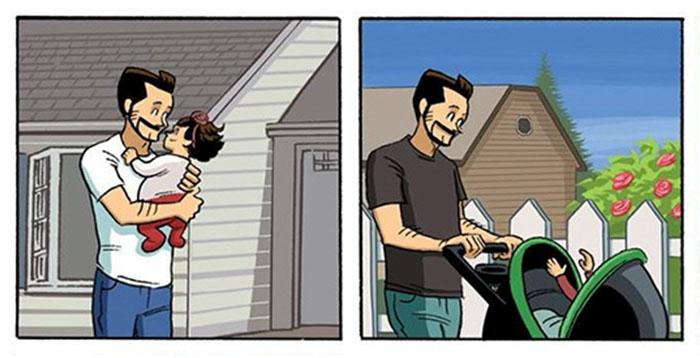 Разходката, която не искаш да свършва (баща рисува комикси)