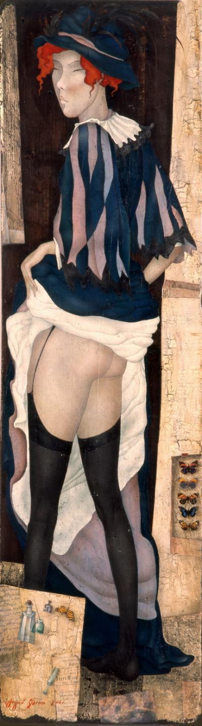 Игра на естетическа чувственост и рафиниран еротизъм – в картините на Андрей Белле