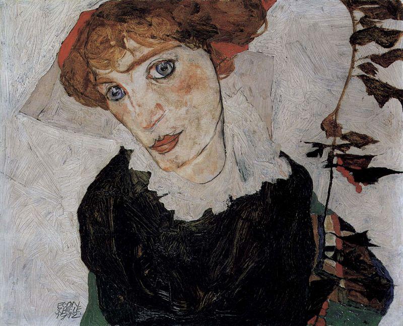 Портрет на Валери (Уоли) Нойзил от Егон Шиле