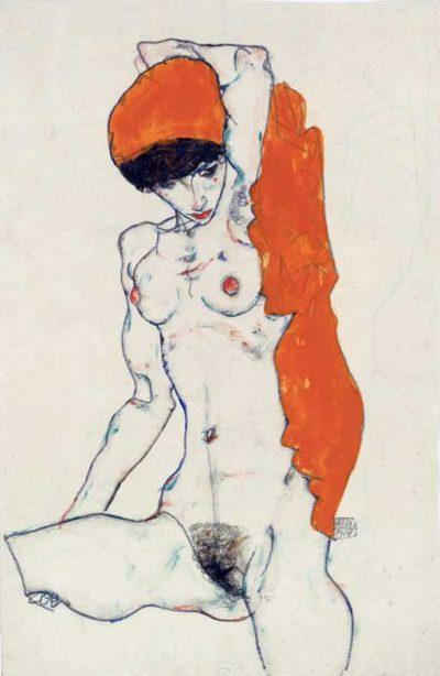 """Егон Шиле: """"Да ограничаваш един артист е криминално престъпление. Това е като да убиеш новородено"""" (еротични рисунки и автопортрети)"""