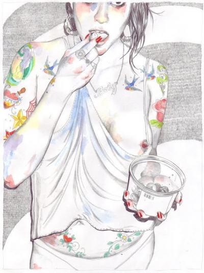Порастването – цветно и дръзко – в илюстрациите на Esra Røise