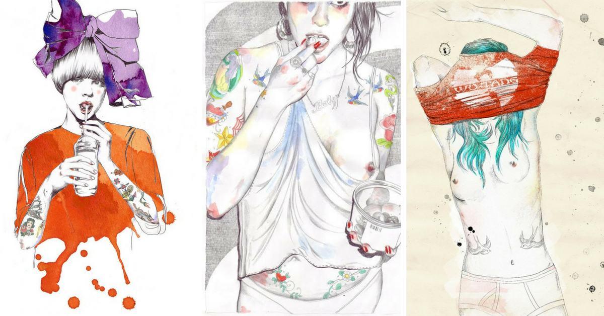 илюстрациите на Esra Røise