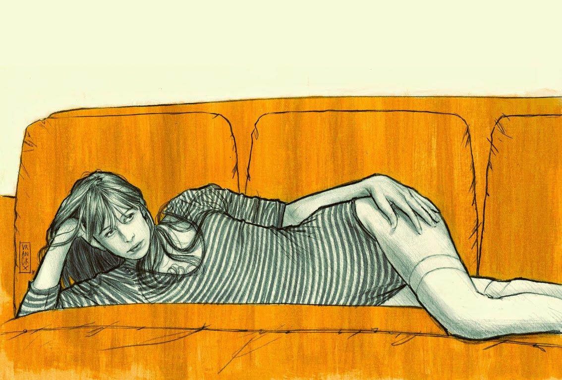 Les femmes de Gilles:противоречивите жени на белгийски илюстратор