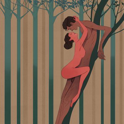 Кама Сутра, илюстрирана от Маркос Чин – където любовта е разказана с природни метафори