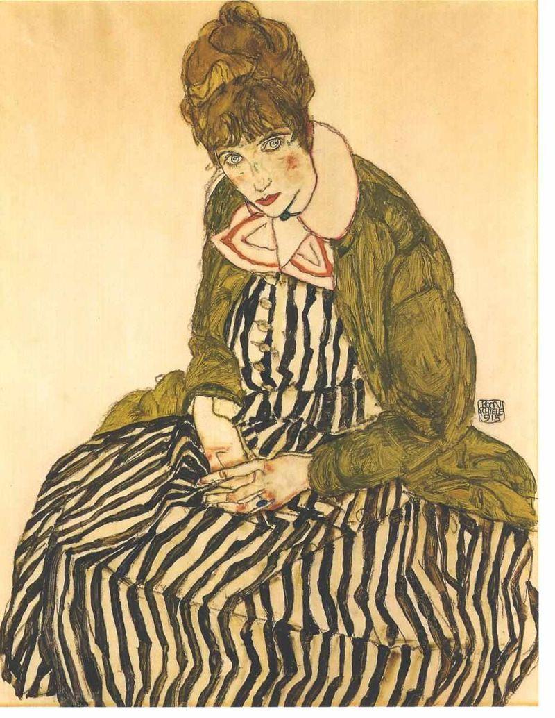 Портрет на Едит Шиле