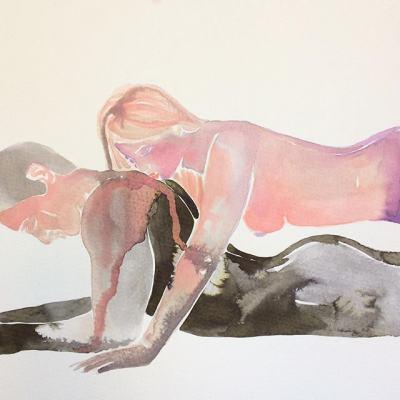 Чувствено и еротично изкуство – така, както го виждат жените (акварелите на Tina Maria Elena)