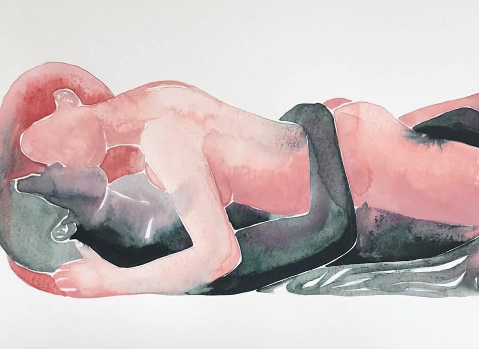 Чувствено и еротично изкуство (картините на Tina Maria Elena)