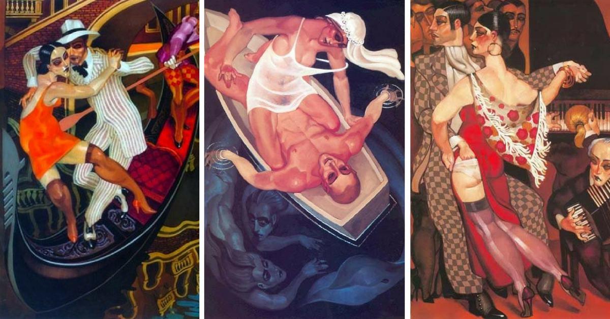 картини на Жуарез Машаду