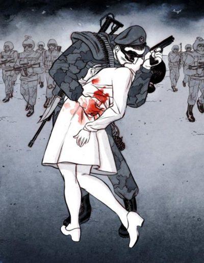 Илюстрации, които ни карат да повдигаме вежди… и въпроси