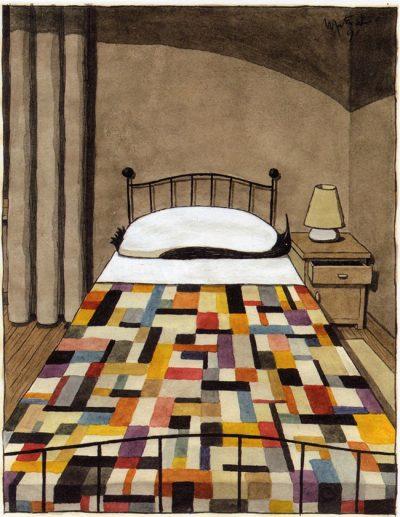 Остроумни, елегантни и изненадващи – илюстрациите на Franco Matticchio