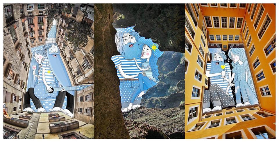 Sky Art: Където градският пейзаж е изграден с въображение (снимки)