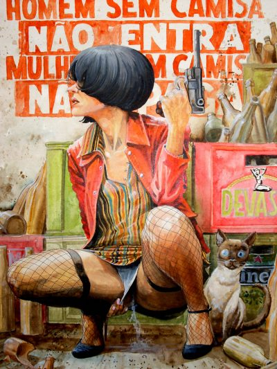 Между ярки графити и комикси от 60-те: провокативните илюстрации на бразилеца Francisco José de Souto Leite (Derbyblue)