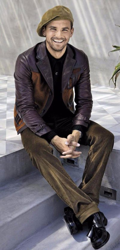 Григор Димитров за L'Uomo Vogue (фотосесия)