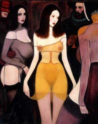 Чувствени богини и похотливи фавни – в маслените платна на Paul Laurenzi